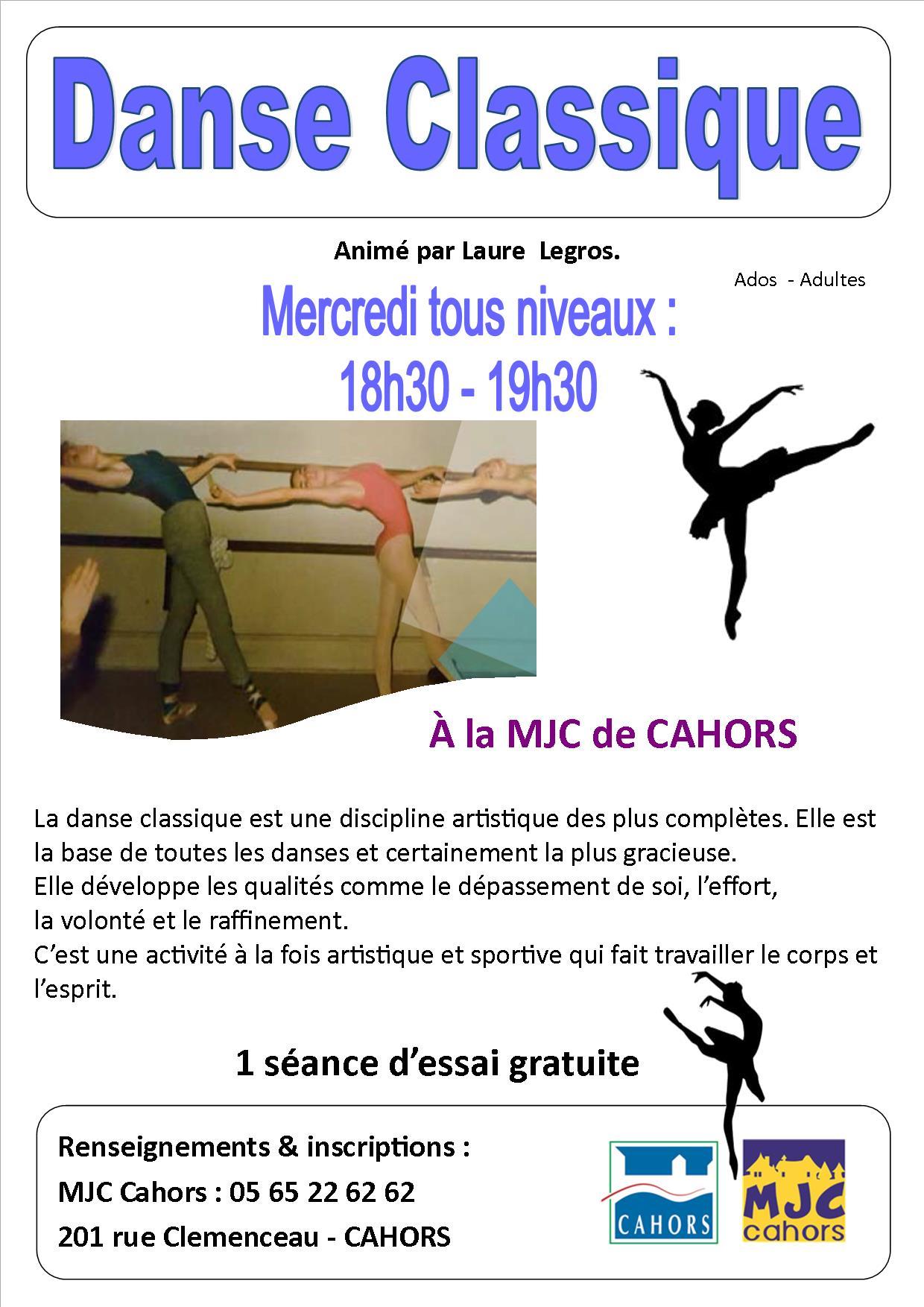 Figeac : Danse Classique à la MJC