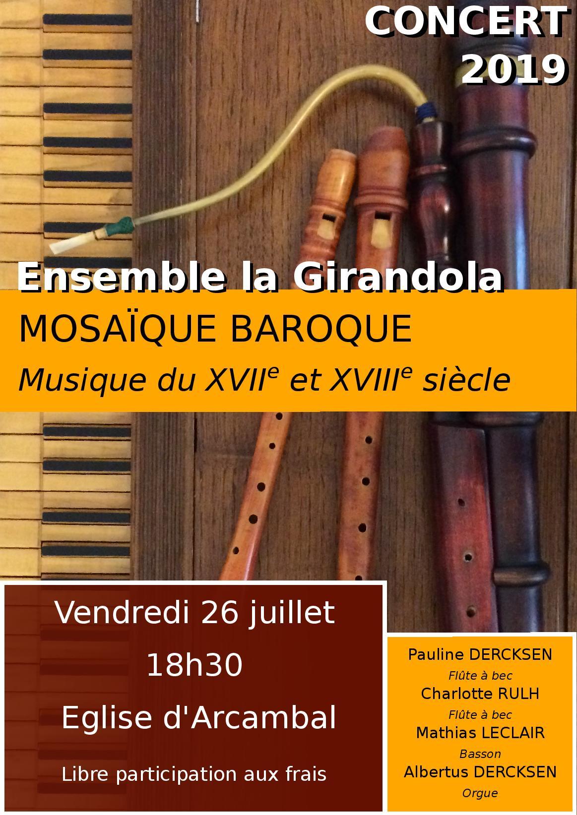Figeac : Concert de Musique Baroque