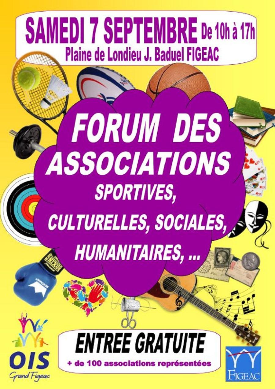 Figeac : Forum des Associations Sportives et non Sportives