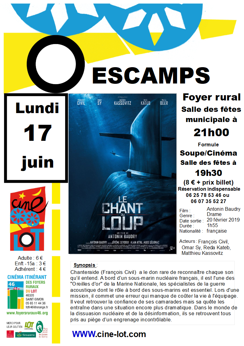 Ciné-Lot à Escamps: