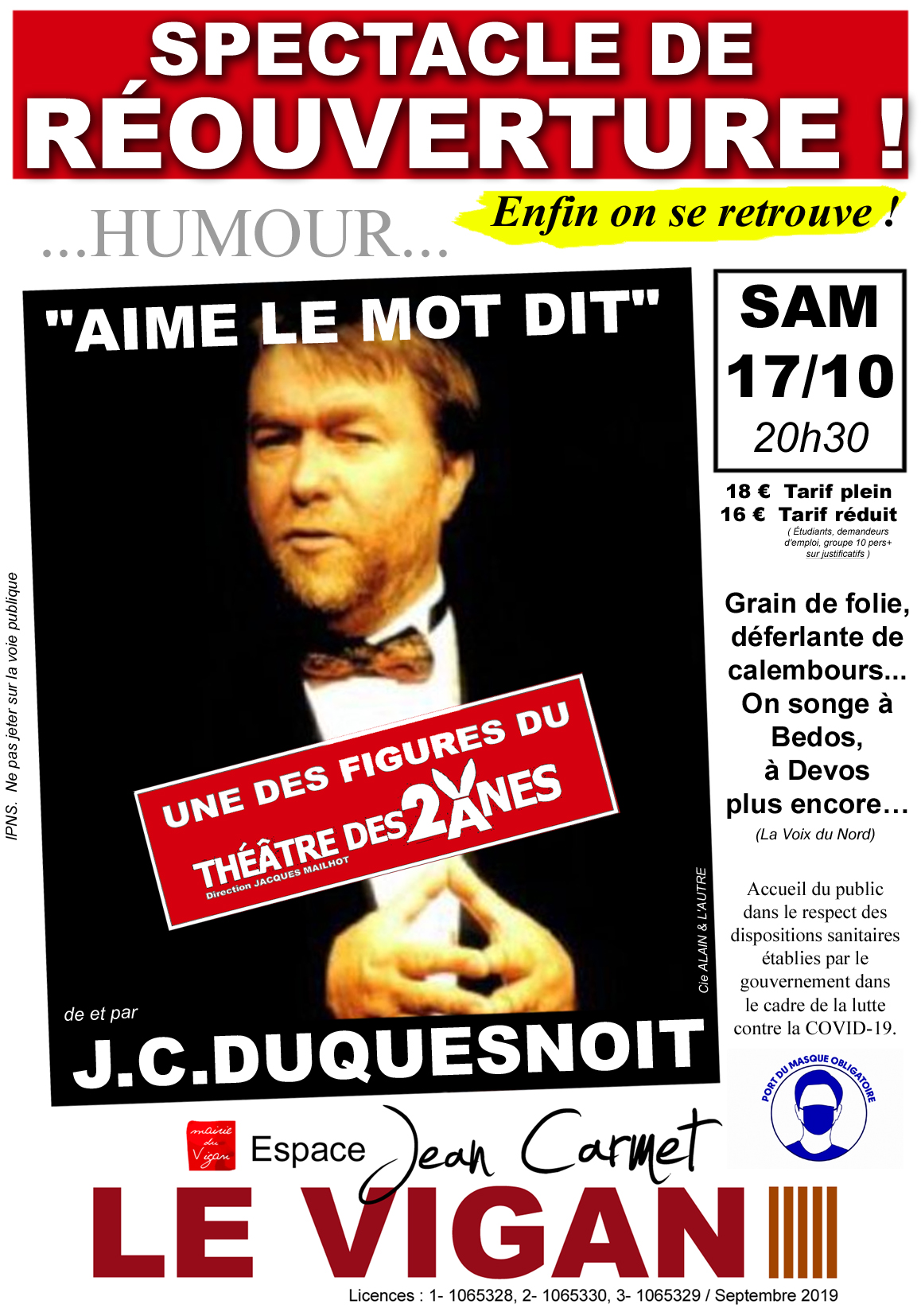 Affiche Duquesnoit
