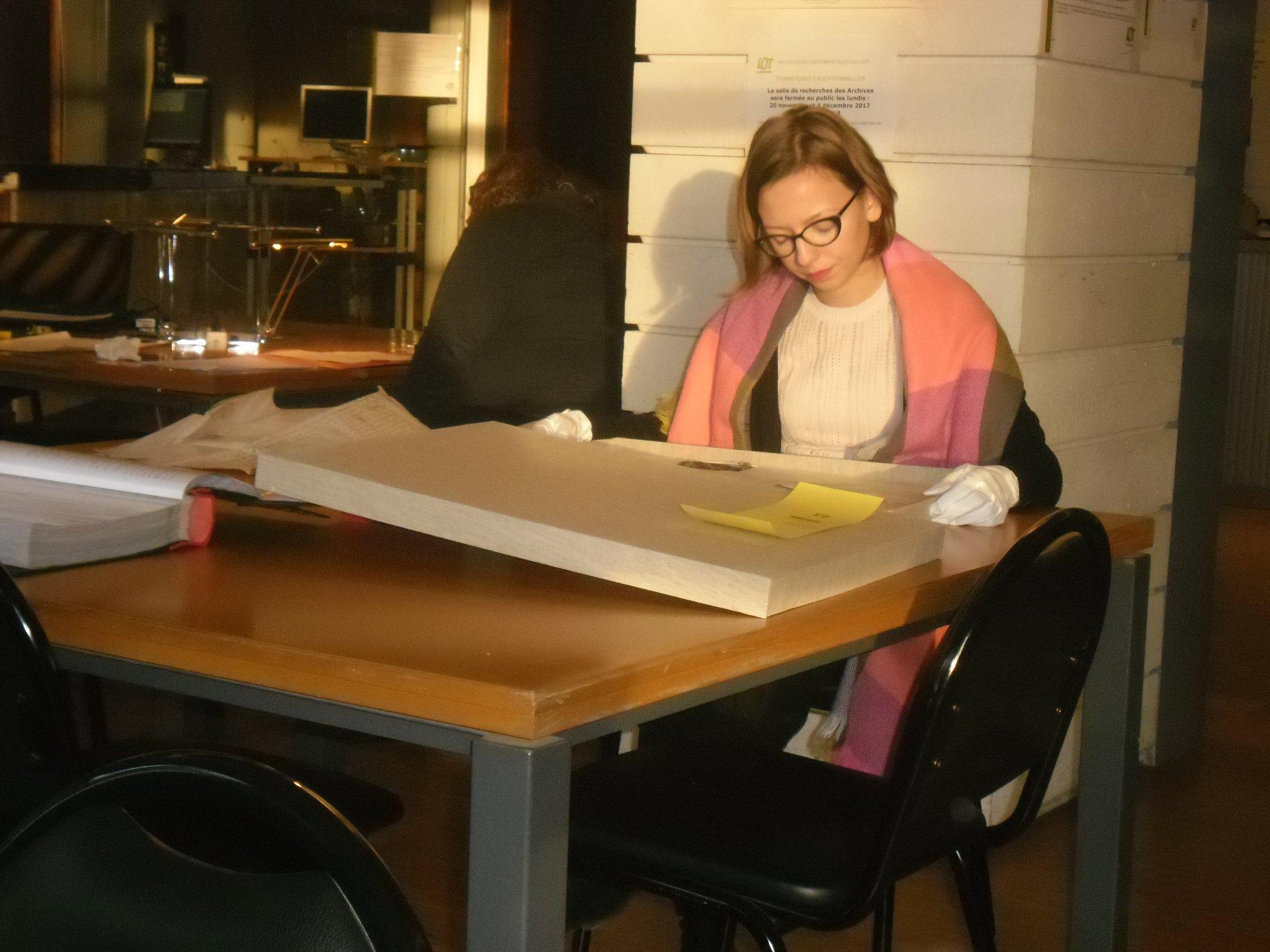 Figeac : Atelier Découverte des Archives