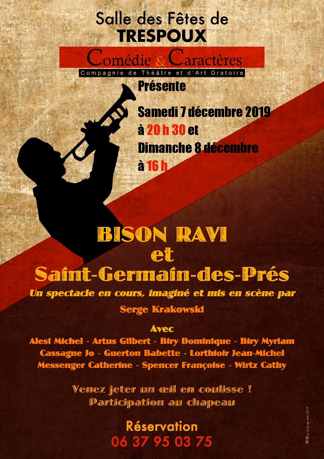 Figeac : Théâtre : Bison Ravi