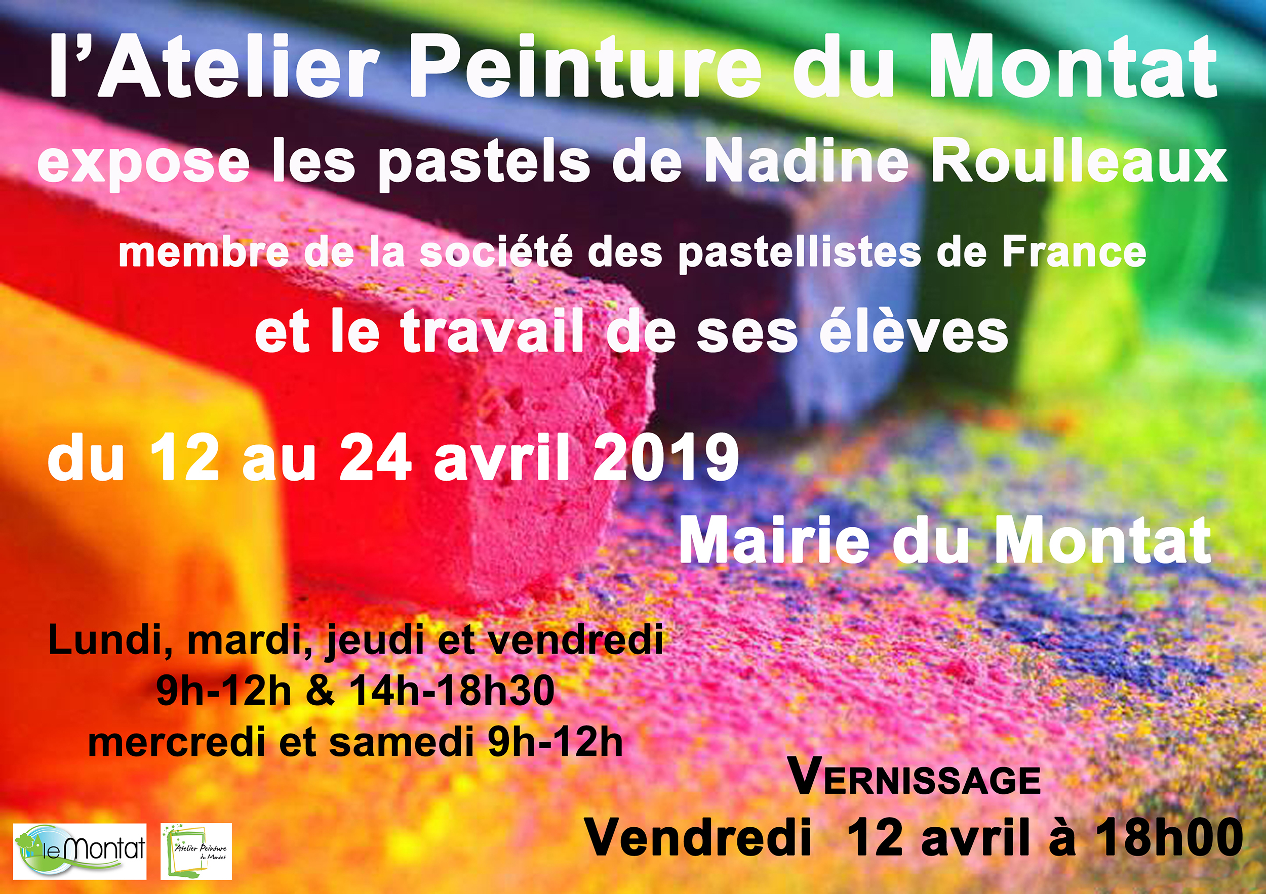 Figeac : Exposition : Nadine Roulleaux, Pastels