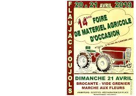 Figeac : 14ème Foire de Matériel Agricole d'Occasion, Brocante, Vide-Grenier, Marché Aux Fleurs