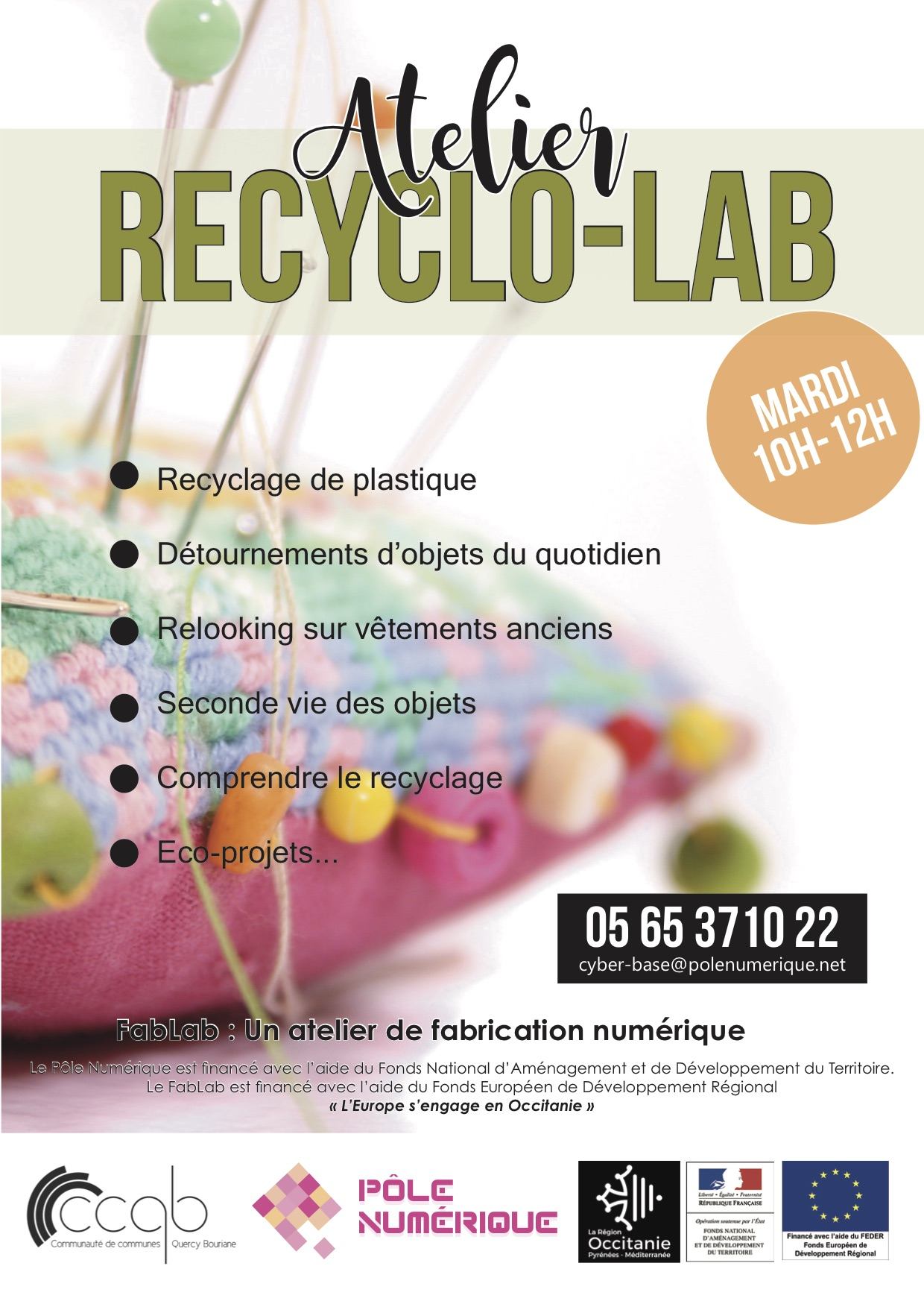 PN -Atelier Recyclo Lab 2019