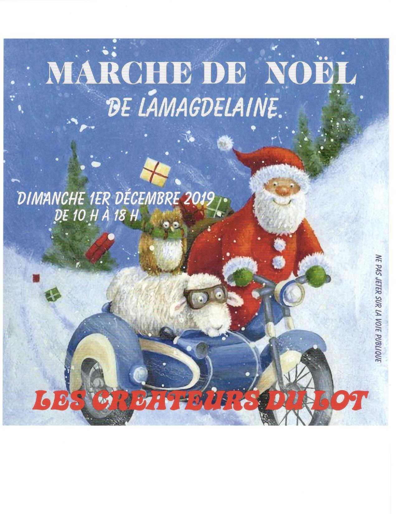 Figeac : Marché de Noël à Lamagdelaine