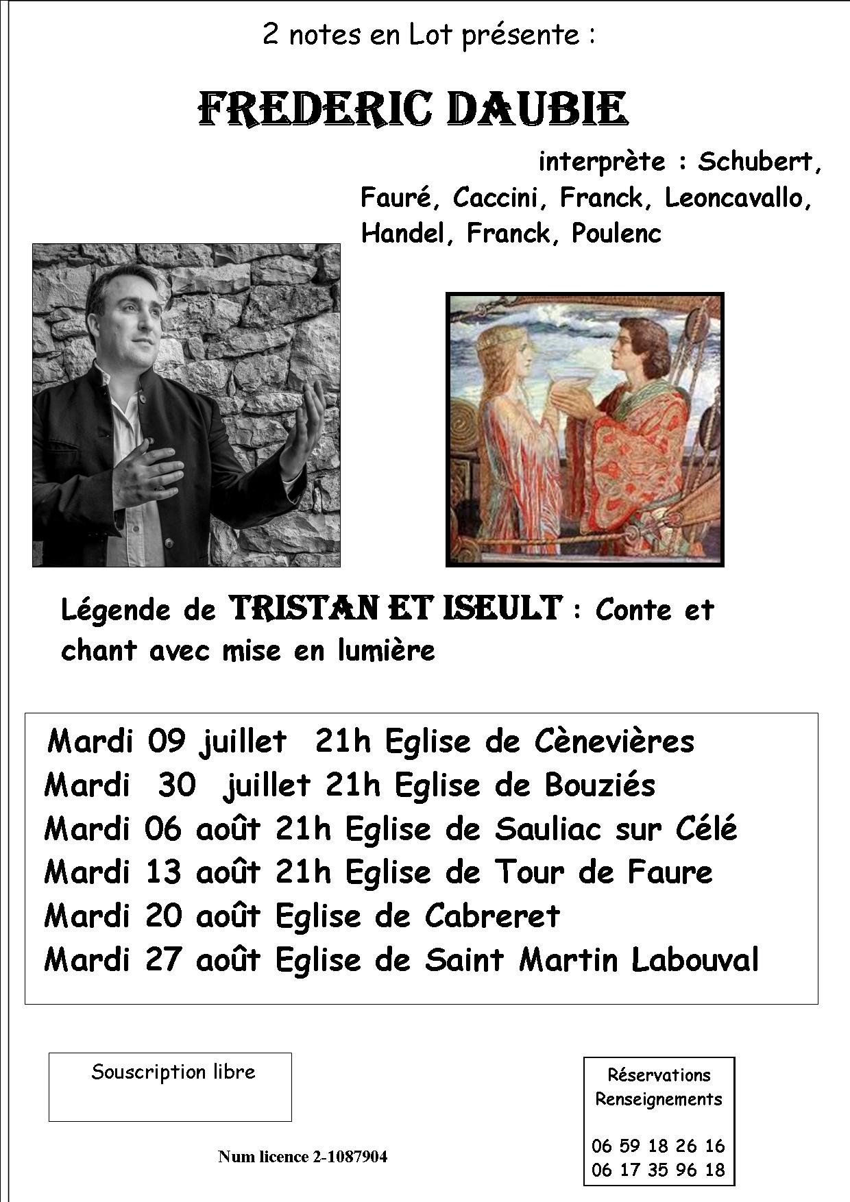 Figeac : Spectacle : Tristan et Yseult
