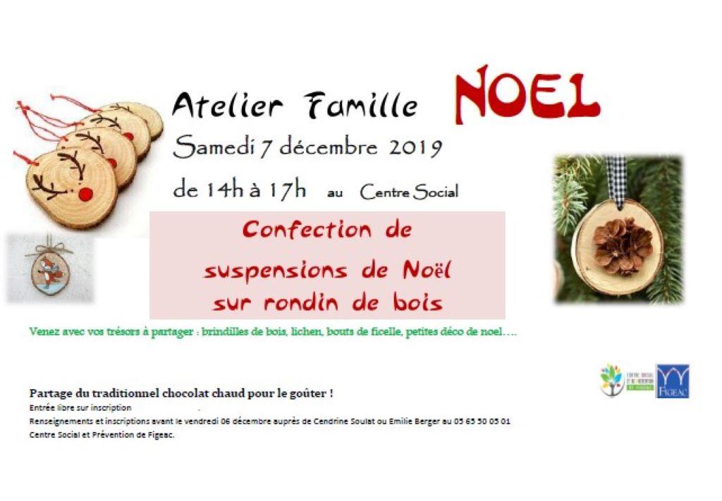 Figeac : Atelier Famille Noël