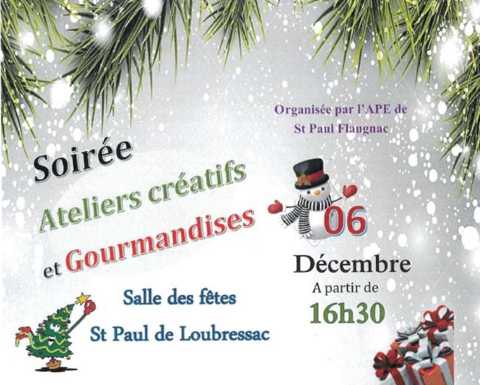 Figeac : Ateliers Créatifs et Gourmandises à St Paul-de-Loubressac