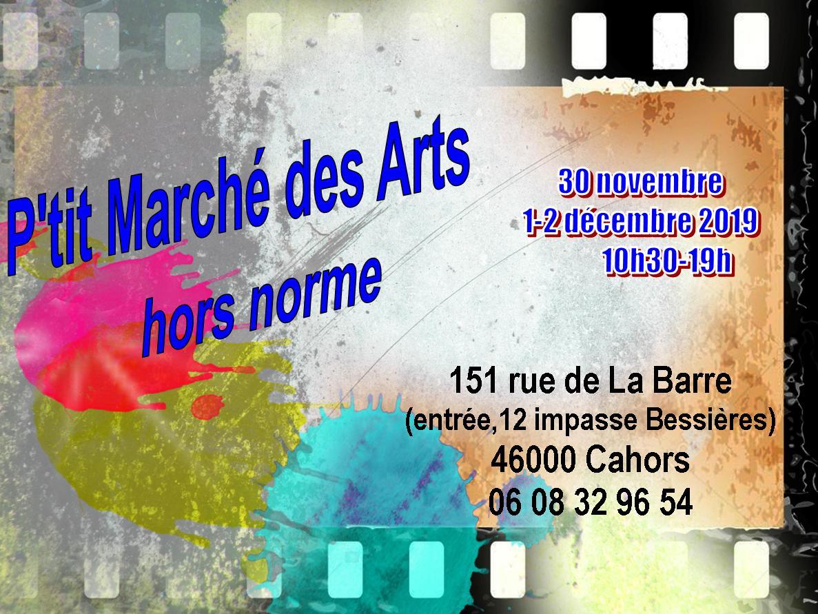 Figeac : P'tit Marché des Arts Hors Norme