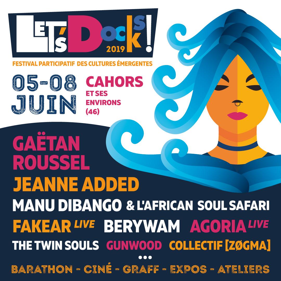 Figeac : Festival Let's Docks 2019 - Concerts du 7 juin