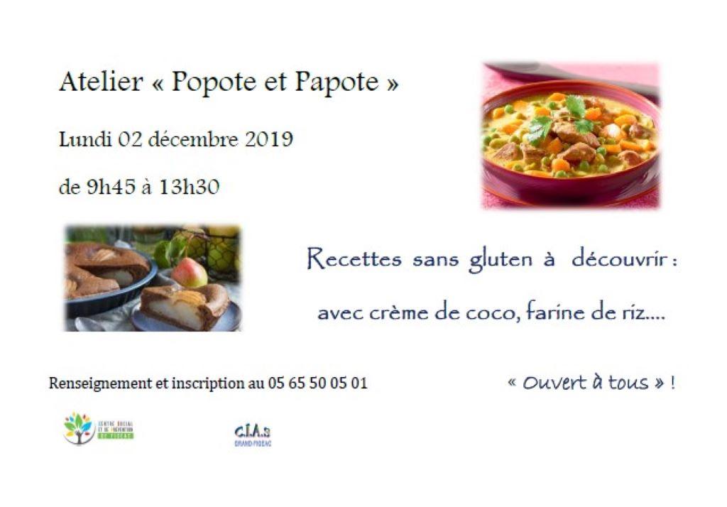Figeac : Atelier Cuisine